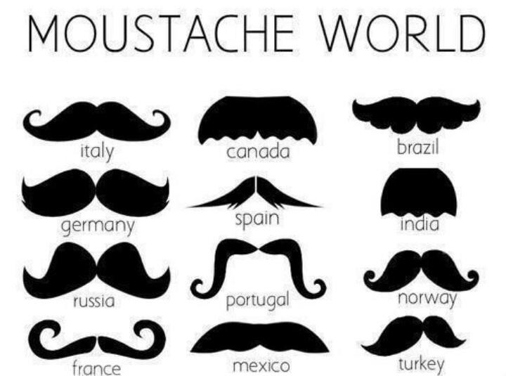 17 best images about mostachos on pinterest - Moustache dessin ...