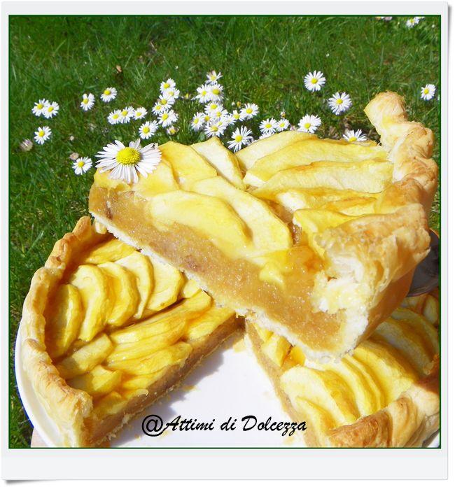 TORTA DI MELE IN SFOGLIA / APPLE CAKE IN BROWSE