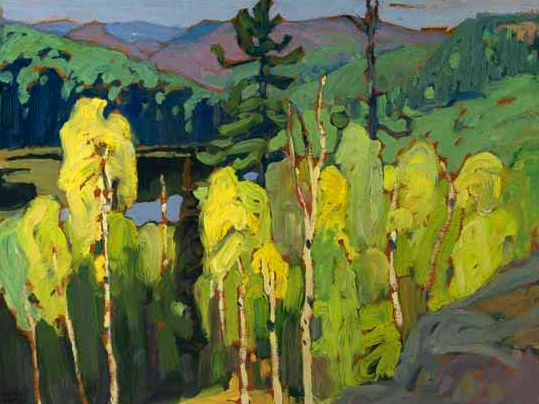 Algoma c.1920, Lawren Harris, Canadian Group of Seven
