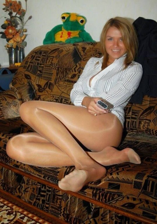 Your Country Teen Pantyhose Candid 120