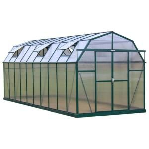 Grandio Elite sets a new standard for DIY hobby greenhouse kits in the USA. Not only are they pleasing in any yard they are designed and built to withstand the harshest elements. This beautiful barn-style greenhouse gives you year-round growing space in an appealing, rigid 1.6 mm aluminum frame with reinforced cross-roof truss supports for heavy snow loads. Additionally Grandio goes beyond the competition by offering 10 mm twin-wall polycarbonate panels for a price much lower than most 4 mm…