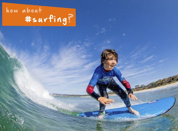 Get out on the water this #summer and go #surfing the waves! #beach #familyfun #thingstodo