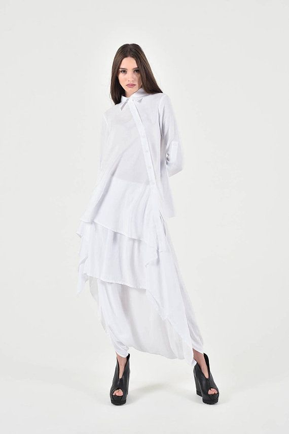c9410f9e9a533a Extravagant flattering loose shirt , so elegant and comfy ... Perfect  solution for your everyday outfit:) ...not only... This would be turn  around garment ...