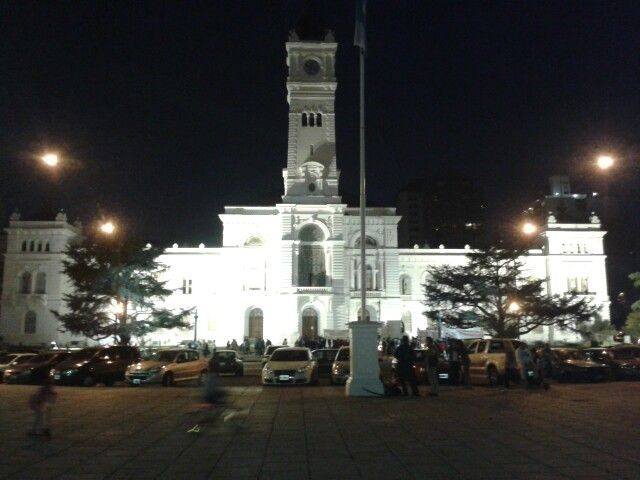 Palacio municipal de La Plata. Buenos Aires