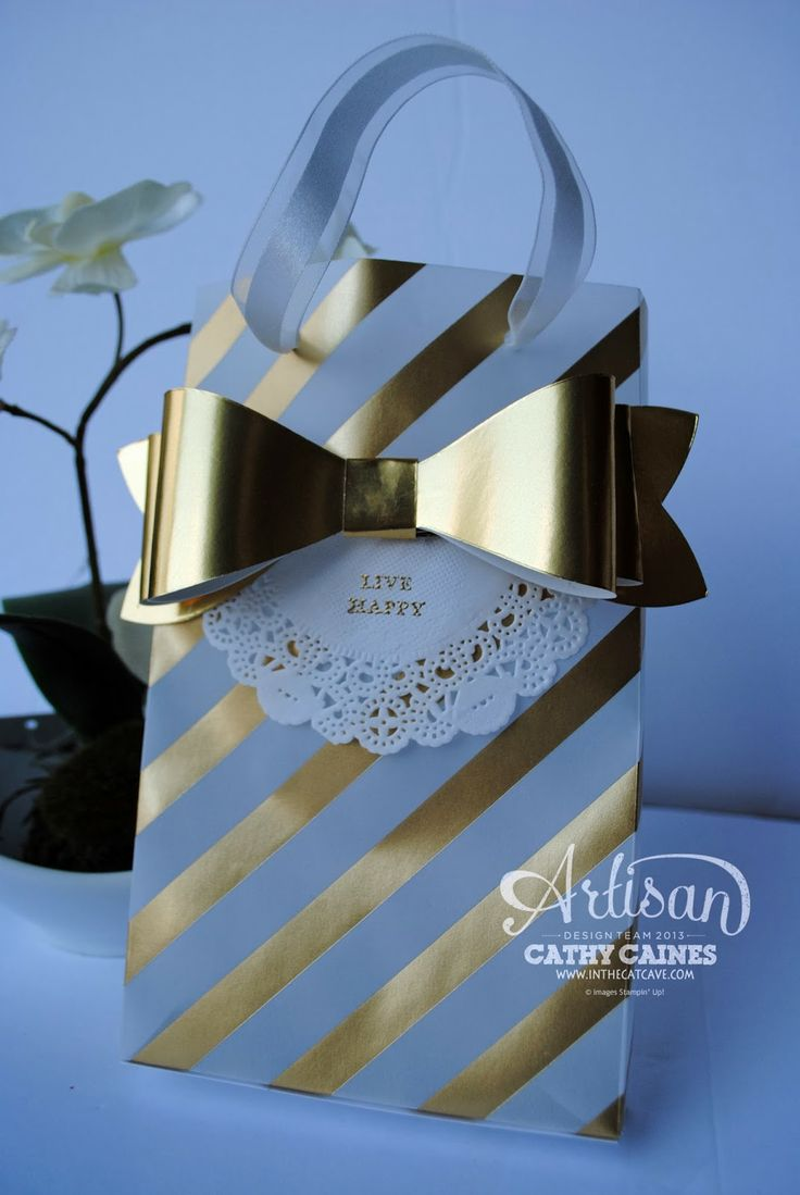 Leadership Display Boards Day 5: I [heart] gold by Cathy Caines @Stampin' Up!