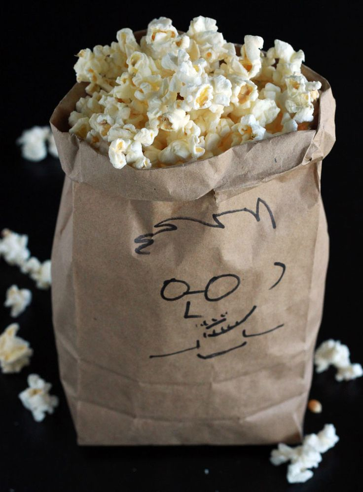 Alton Brown's Microwave Popcorn Recipe