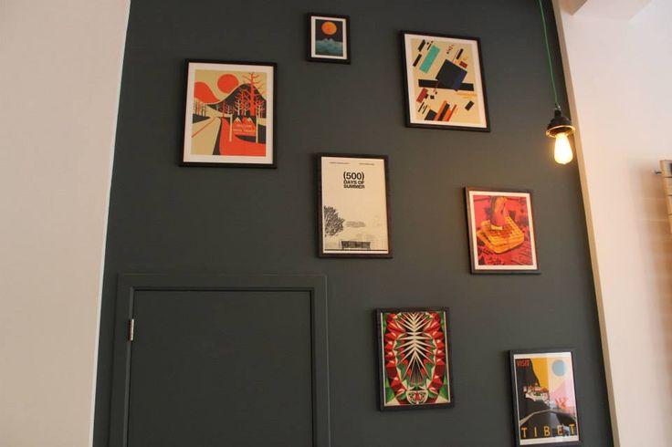Wall decoration: #Peck47 - Urban Hypsteria