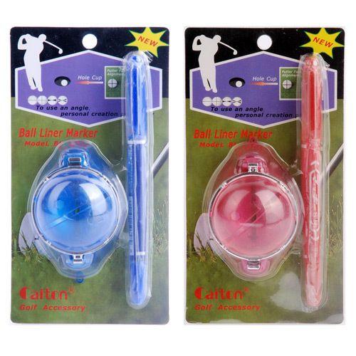 Golf ball line pen blue golf ball line drawing pen
