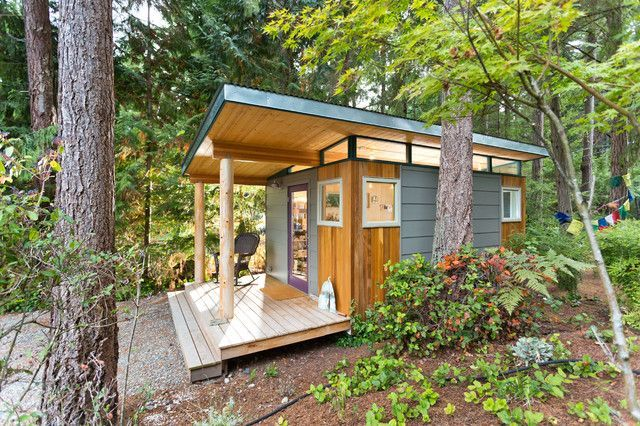 Take A Peek Inside The World S Cutest Craft Studio In 2020 Prefab Sheds Shed Building Plans Diy Shed Plans