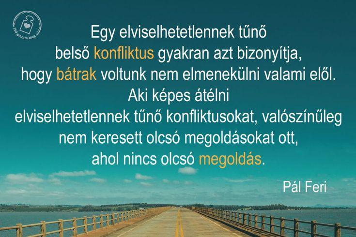 Pál Feri idézet