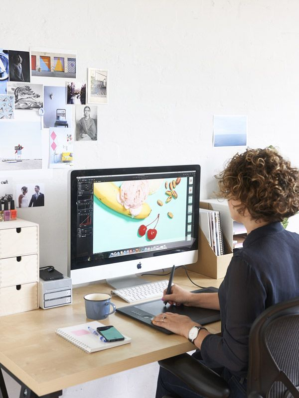 graphic designers office. eve at her st kilda studio on thedesignfilesnet graphic designer designers office pinterest