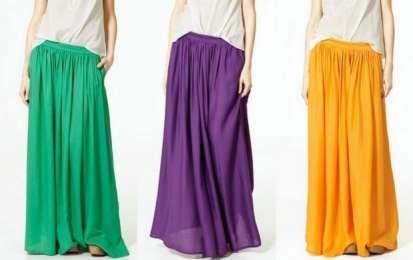 Patrones de faldas largas: Ideas DIY [FOTOS] - Cómo hacer faldas largas, paso a paso. A continuación, te explicamos cómo crear faldas largas con volantes, con vuelo, pegadas, asimétricas y más.