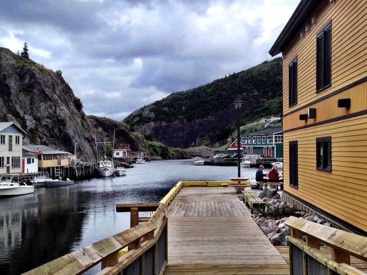 Quidi Vidi Village in St. John's, Newfoundland, Canada