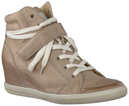 Grijze Paul Green Wedge sneakers 1517