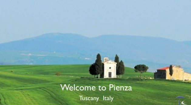 Pienza Tuscany Italy  - http://www.whataboutitaly.com/video/pienza-tuscany-italy/