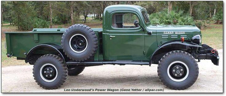 Dodge Power Wagon has a 126-inch wheelbase.
