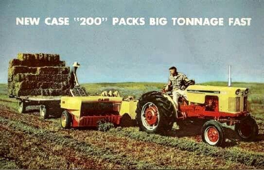 CASE 200 Square Baler Ad