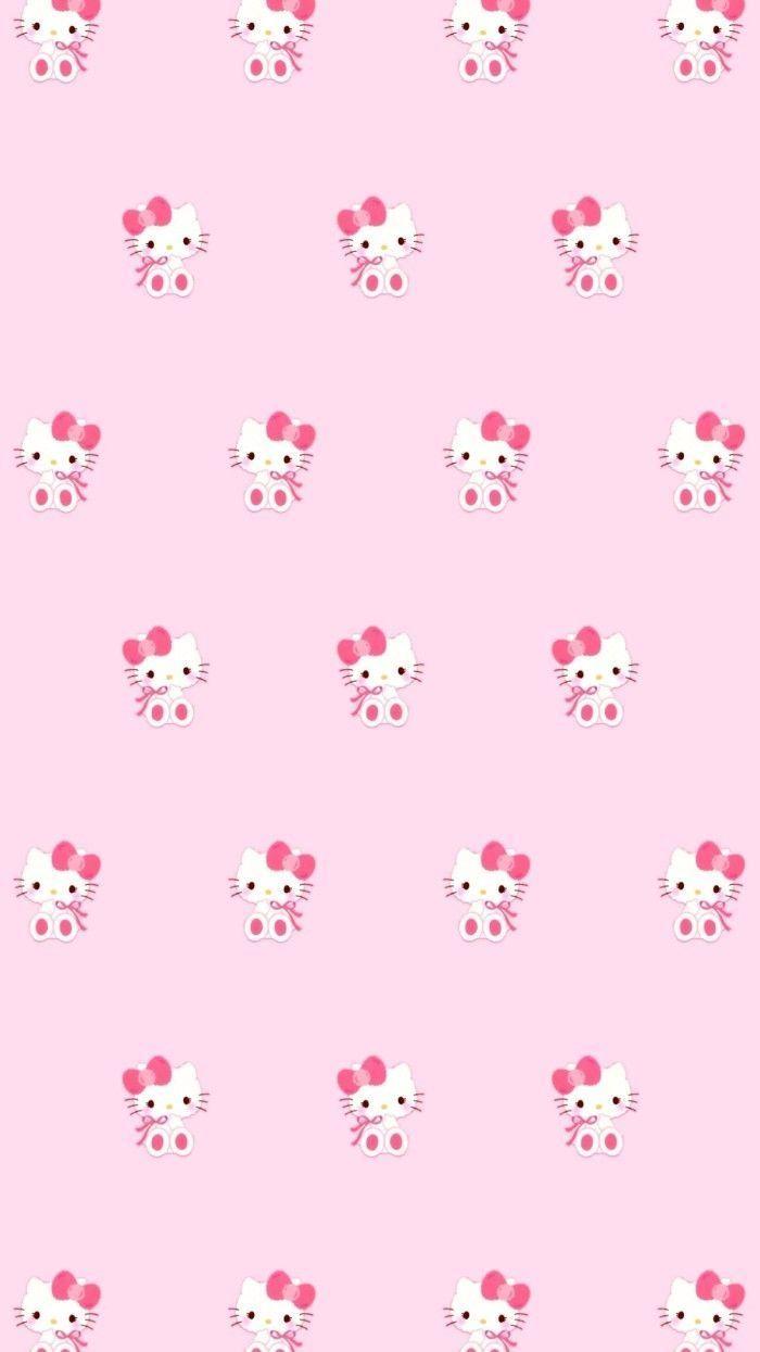 Pin Lauren Bergeron On Hello Kitty Pink Wallpaper Hello Within The Brilliant Hello Kitty Ba Pink Wallpaper Hello Kitty Pink Hello Kitty Hello Kitty Backgrounds