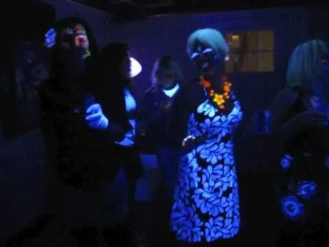 Dia de Los Muertos blacklight partyParties, Blacklight Party, Of The, Eye Catching, Muertos Blacklight, Black Lights, Dead, Day, Blacklight Parties