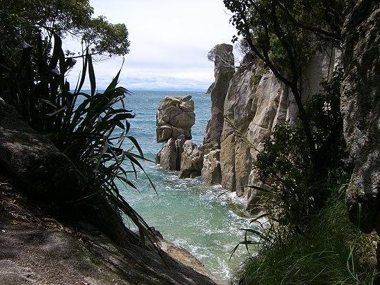 Abel Tasman Coast Track wurde in Neuseeland, Abel Tasman National Park aufgenommen