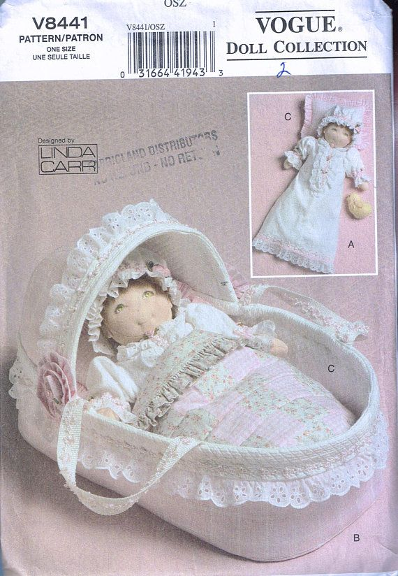 Baby Doll Accessories Sewing Pattern - 15\