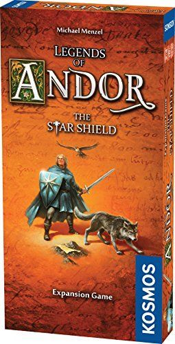 Thames & Kosmos Legends of Andor: The Star Shield Expansion Pack, Multicolor