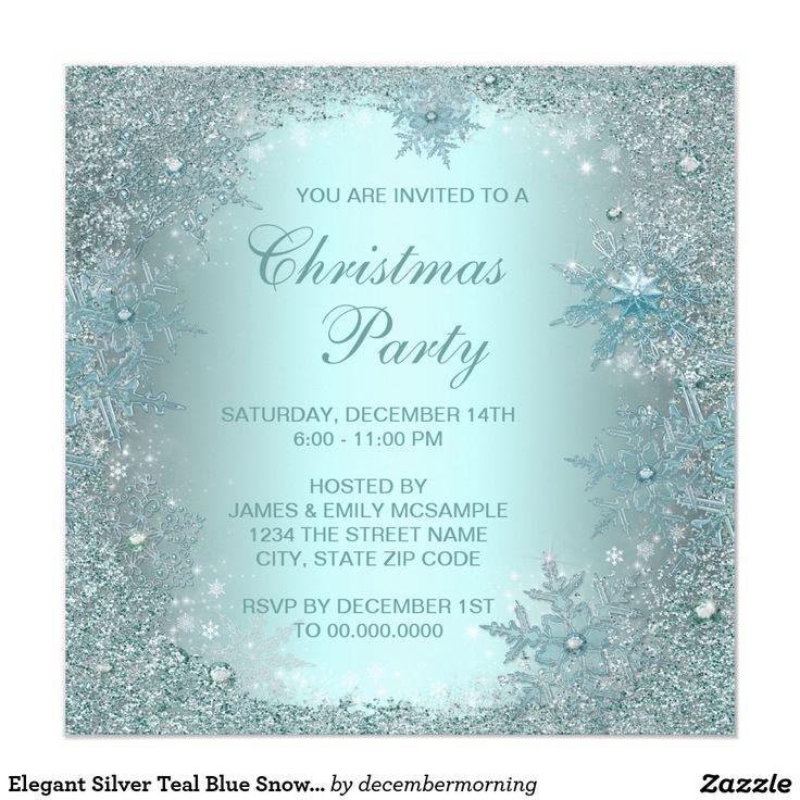 20 best Christmas Holiday Party Invitations images on Pinterest ...