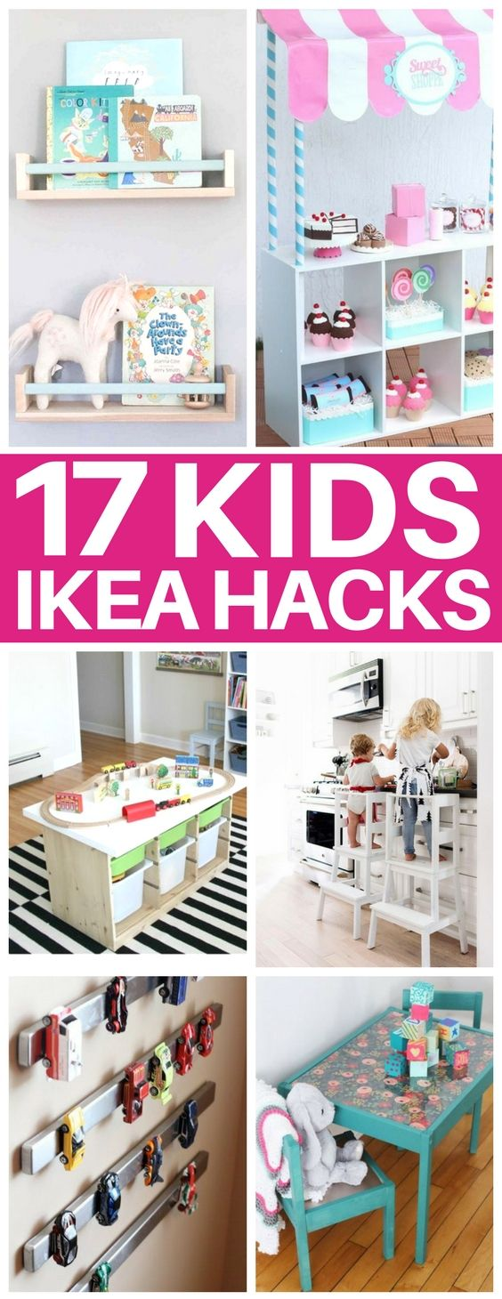 This list of kids ikea hacks is EXACTLY what I nee…