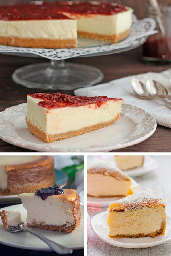 Sabemos que tenemos la tarta de queso que te va a conquistar, esa receta de cheesecake que te volverá loco, la tarta de queso perfecta... ¿quieres verla?
