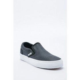 Vans Classic Slip-On Shoes in Perforated Black