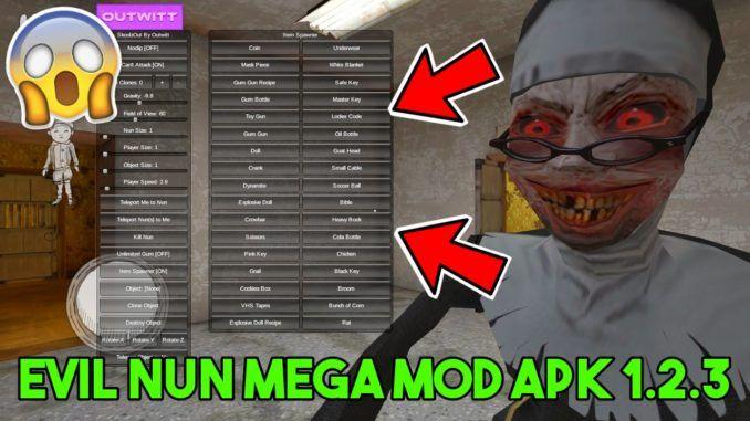 Download Evil Nun MEGA MOD APK 1 2 3 | MOD Games in 2019