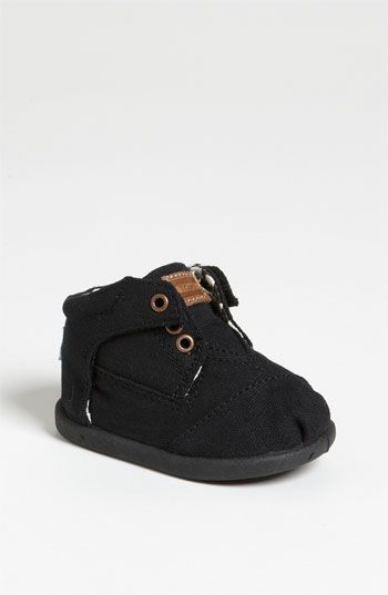 TOMS 'Botas - Tiny' Canvas Boot (Baby, Walker & Toddler) available at #Nordstrom