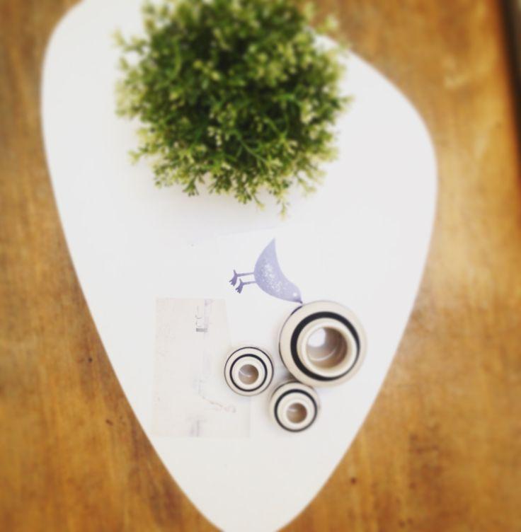 Tabel at home, kahler, plants