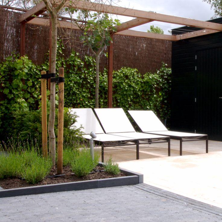 20 best images about tuin idee on pinterest gardens tes and garden planters - Filet schaduw pergola ...