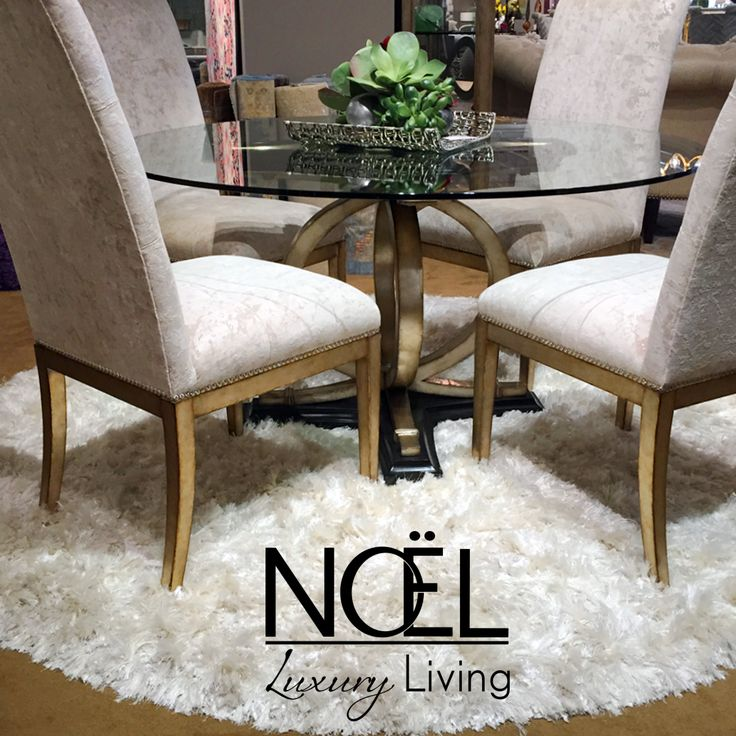 These Are Just A Few Words That May Come To Mind When You See This  Exclusively Designed Dining Set From Marge Carson At Noel Furniture Today!