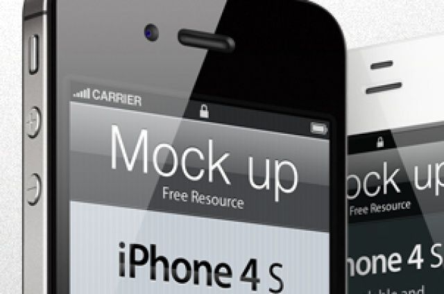Our iphone 4s vector mockup template is a fully-scalable vector shape iphone 4s psd. We have created 3 highly detailed views...