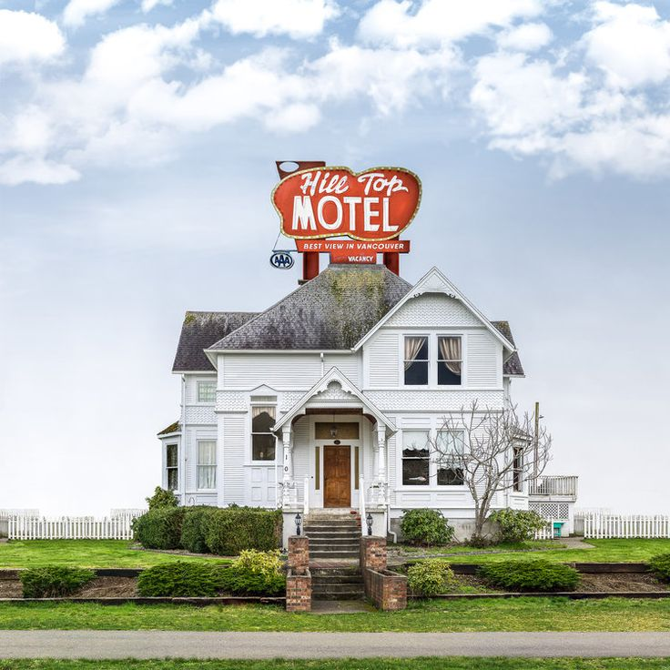 The Hilltop Motel. #vancouverphotographer Paul Melo.     photo via paulmelo.com