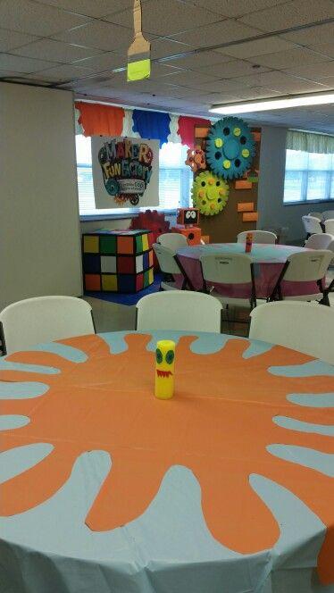 Maker Fun Factory VBS Snack Room