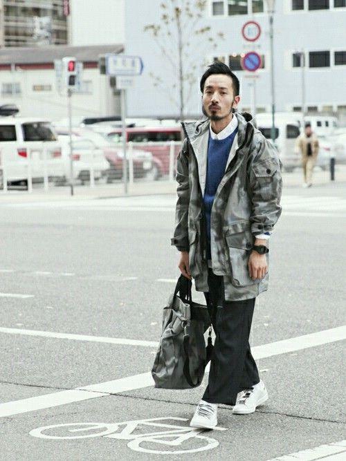 ARC shirakawaさんの「ARK AIR アーク・エアーCOMBAT SMOCK ミリタリージャケット(AMERICAN RAG CIE)」を使ったコーディネート