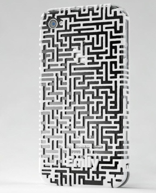 Labyrint kryt na iPhone / Labyrinth 3D Printed iPhone Case