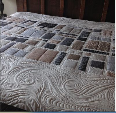 A modern quilt for my bed | Millions of Thoughts at Urban Quiltworks | Bloglovin'