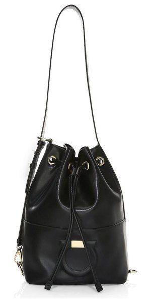 331a0955a0 City drawstring bucket bag by Salvatore Ferragamo  salvatoreferragamo