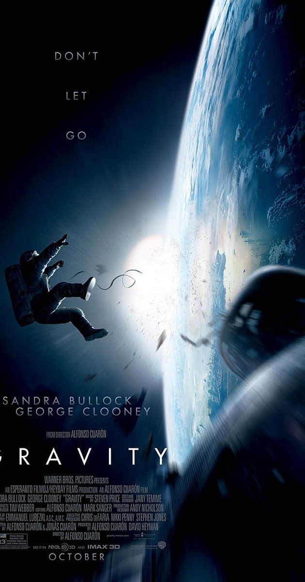 Directed by Alfonso Cuarón.  With Sandra Bullock, George Clooney, Ed Harris, Orto Ignatiussen. Two astronauts work together to survive after an accident which leaves them alone in space.