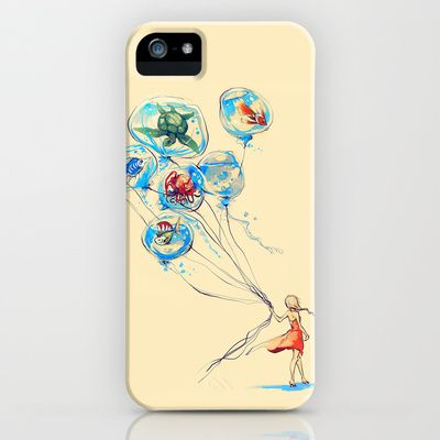 Water Balloons iPhone & iPod Case by Alice X. Zhang - $35.00
