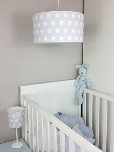 lampara de techo colgante bebelampara para habitacion infantil gris