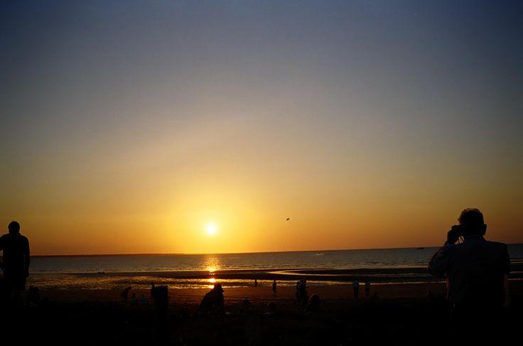Sunset over the Arafura Sea, Mindil Beach
