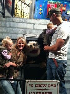 Teen Mom Leah Messer with twins and husband Jeremy Calvert