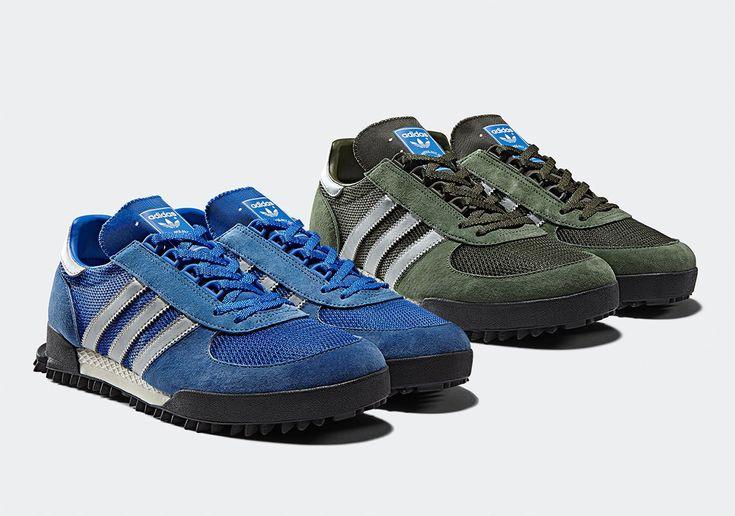 ae5a59add3a9c Adidas ZX500 in Blue Yellow. See more. adidas Marathon TR