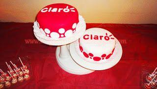 Claro cakes for the reality show Mundos Opuestos 2013