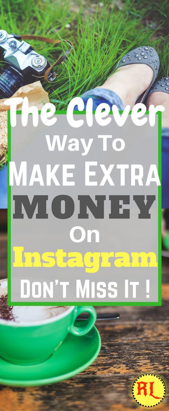 Make money on instagram | Earn Extra Money | Make Money from Home | Side Hustle Ideas | Start a Blog | How to Make Money